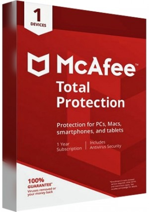 McAfee Total Protection - 1 Device/1 Year