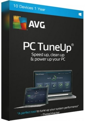 AVG Tuneup - 10 Devices /1 Year