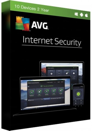 AVG Internet Security - 10 Devices/2 Years