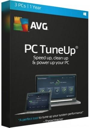 AVG Tuneup - 3 PCs/1 Year