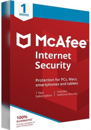 McAfee Internet Security Multi Device - 1 Device/1 Year