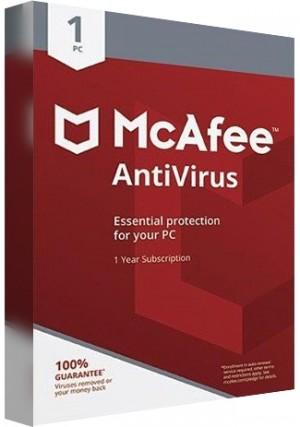 McAfee Antivirus - 1 PC/1 Year(EU)