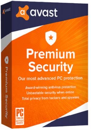 Avast Premium Security - 1 PC/2 Years