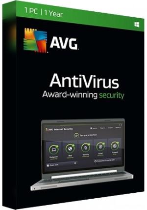 AVG Antivirus - 1 PC/1 Year