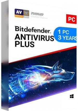 Bitdefender Antivirus Plus 1 PC / 3 Years