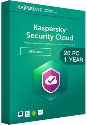 Kaspersky Security Cloud Multi Device / 20 Devices (1 Year)
