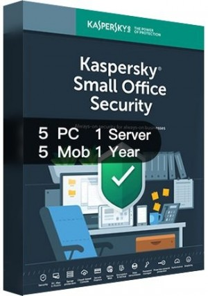 Kaspersky SMALL Office Security Version 7 / 5PCs + 5Mobiles + 1Server (1 Year)