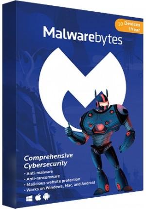 Malwarebytes Premium - 10 Devices/1 Year (EU)