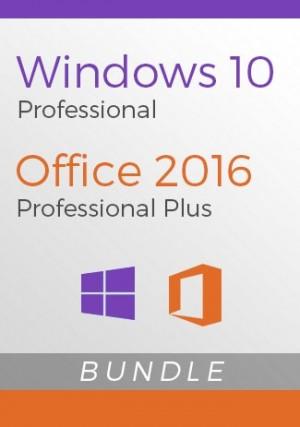 Windows 10 Pro + Office 2016 Pro Plus - Package