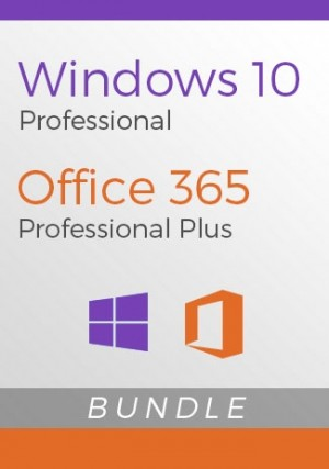 Windows 10 Pro + Office 365 Pro Plus Account - Package