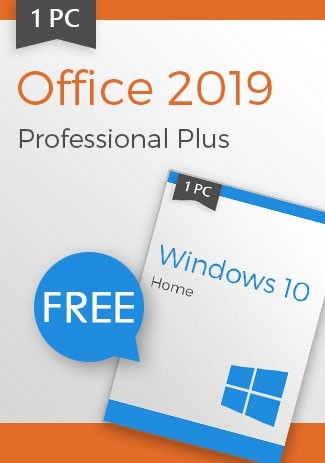 Microsoft Office 2019 Pro (+ Windows 10 Home for free)